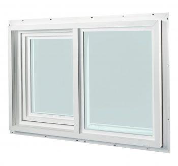 A1 Windows vinyl horizontal sliding window
