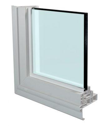 A1 Windows vinyl casement window