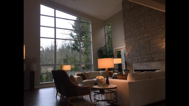 Custom Aluminum Window Project - Ground To Ceiling Windows